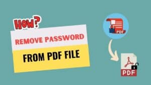 How to remove password from PDF file on Mobile?